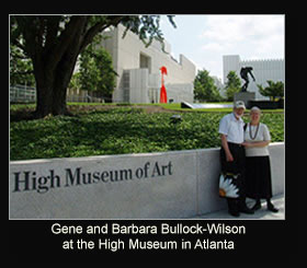 Gene and Barbara Bulock-Wilson at the High Museum in Atlanta